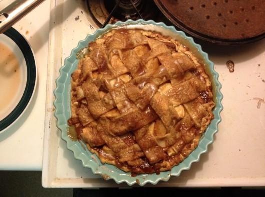 That pie!